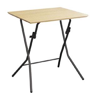 スタンドタッチテーブル SB-645 ナチュラル/ブラック 送料無料 コンパクトに折り畳めろ60cmサイズ格好いい