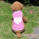 【ゆうパケット送料無料】ハートのラブミーバディタンク/ピンク 中・大型犬用 (2XL-4XLサイズ)HUGGY BUDDY'S(ハギーバディーズ) 犬服 ドッグウェア