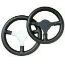 ☆【Moto-Lita】シングルシーターステアリングホイール ブラック 10インチ