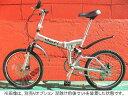 【折り畳み自転車★軽量アルミフレーム20インチ】 前後ディスクブレーキ&サスMTB特殊アルミフレーム20