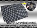 エブリィワゴン DA64W ラゲッジマット トランクマット エブリイワゴン パーツ 黒灰チェック柄 1P フロアマット リア 内装 カスタム