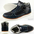 スニーカー ハイカット メンズ 靴 ALFRED GALLERIA AG-2025