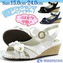 サンダル ストラップ 子供 キッズ ジュニア 靴 moonstar SG C449