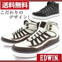 スニーカー ハイカット メンズ 靴 EDWIN EDW-5053 エドウィン tok