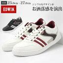 【特別価格 6/21まで】 スニーカー ローカット メンズ 靴 EDWIN ED-7026 エドウィン