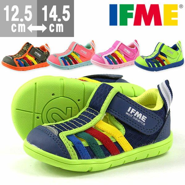 サンダルウォーター子供キッズベビー靴IFME22-7017イフミー