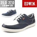 エドウィン スニーカー ローカット メンズ 靴 EDWIN ...