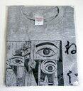 「つげ義春 ねじ式-眼科 シルクプリント Tシャツ (Lサイズ)」