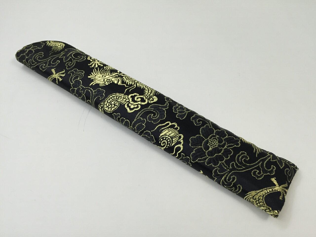 金龍 刺繍扇子入れ(1650) 24cmの紹介画像2