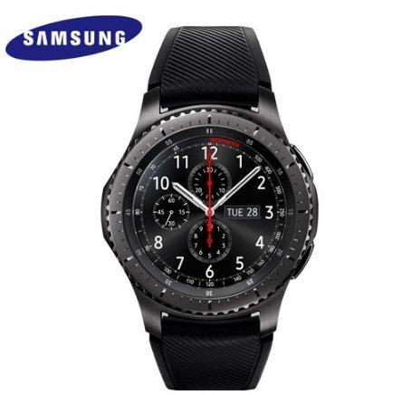 【送料無料】Samsung サムソン サムスン スマートウォッチ SAMSUNG GALAXY GEAR S3 Frontier SM-R760 Smart Watch [並行輸入品]