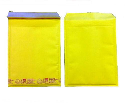 黄色い クッション封筒 ポップエコ850T×100枚 パック A4ファイル用