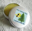 ショッピングハンドクリーム 【メール便可】Bee'sアロマワックス(ヒノキの香り)18g エッセンシャルオイル 精油 ミツロウ 10P03Dec16