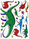 【メール便発送OK!】当店で大人気!!メタリックシール☆-恐竜☆-【シール】【おもちゃ】【激安】【プレゼント】