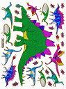 【メール便発送OK!】当店で大人気!!メタリックシール☆-恐竜☆2☆-【シール】【おもちゃ】【激安】【プレゼント】