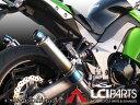 Z1000 2010-2016 LCIラウンドフルチタンスリップオンマフラー