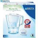 X089 BRITA ブリタ ポット型浄水器 アルーナ XL 本体 MAXTRA マクストラ 3.5L(浄水部2L) カートリッジの交換時期が分かる液晶+カート...