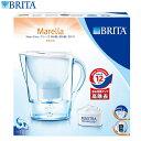 X091 BRITA ブリタ ポット型浄水器 マレーラ Cool 本体 2.6L(浄水部1.4L) カートリッジの交換時期が分かる液晶+カートリッジ1個付き