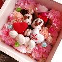 結婚祝い ミッキー ミニー ぬいぐるみ 花 プリザーブドフラワー入り 壁掛け【L】 ◆結婚祝いプレゼント・記念日の贈り物におすすめのフラワーギフト結婚祝い ミッキー ミニー ぬいぐるみ 花 プリザーブドフラワー入り 壁掛け【L】 ◆結婚祝いプレゼント・記念日の贈り物におすすめのフラワーギフト