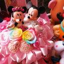 ディズニー 結婚祝い ミッキー ミニー ウェディングフィギュア レインボーローズ入り プリザーブドフラワー ケース付きディズニー 結婚祝い ミッキー ミニー ウェディングフィギュア レインボーローズ入り プリザーブドフラワー ケース付き