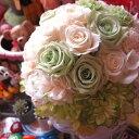 プリザーブドフラワー ブーケ アートフラワー系使用 結婚式 ブーケプリザーブドフラワー ブーケ アートフラワー系使用 結婚式 ブーケ