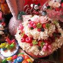 結婚祝い ディズニー 花 フラワーケーキ フラワーギフト プリザーブドフラワー 7号ケーキ ノーマル ミッキー ミニー結婚祝い ディズニー 花 フラワーケーキ フラワーギフト プリザーブドフラワー 7号ケーキ ノーマル ミッキー ミニー