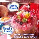 誕生日プレゼント ディズニー グーフィー入り 花 フラワーギフト フラワーケーキ レインボーローズ プリザーブドフラワー入り ケース付き グーフィー 記念日の贈り物におすすめのフラワーギフト