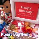 誕生日プレゼント キティ入り 花 写真立て フォトフレーム プリザーブ フラワー入り キティちゃん