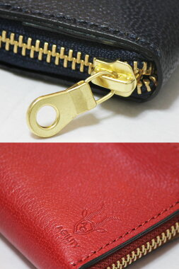 【小銭を固定するコインケース】新感覚ラウンドファスナー山羊革ゴートレザーコインキャッチャー珍しい特許メンズ懐かしい財布日本製国産ファスナーポケットカード収納財布