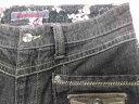 ★古着レディース★OO-LA-LA SASSON/サスーン★デニムパンツ/ストレッチデニム/インディゴブラック/70-95サイズ/股下78★併1603●メール便送料無料【smtb-k】【w3】【中古】