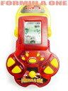 レーシングゲーム FORMULA ONE 携帯ゲーム 赤 ゲーム機 車 フォーミュラ レース