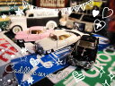 お得な3台セット 1/43 キャデラック シリーズ62 クーペ 1953年 ピンク白黒 ミニカー キンスマート アメ車 クラシックカー