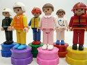 ■アクションフィギュアスタンプ6個■仕事人/おもちゃ/雑貨/インテリア