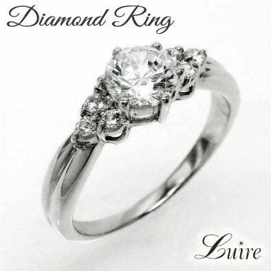 【10%OFF】婚約指輪 プラチナ エンゲージリング ダイヤモンド リング ブライダル 鑑定書付 ダイヤリングPt9000824カード分割05P01Oct16 婚約指輪 エンゲージリング ダイヤリング プラチナ900