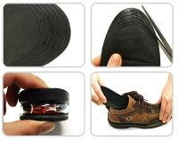 無理なく2cmUPシークレットインソールエアクッション中敷厚底上げ底美脚シークレットシューズブーツヒールアップ靴を作ろう!