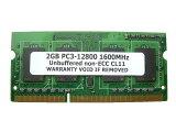 2GB PC3-12800 DDR3 1600 204pin SODIMM PCメモリー 【相性保証付】
