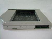 ノートパソコン光学ドライブ用HDDマウンタSATA接続12.7mm厚