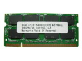 2GB PC2-5300 DDR2 667 200pin SODIMM MAC �ޥå����꡼ A2/N667-2G�ߴ��ʡ������ݾ��ա�