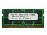 4GB PC3-8500 DDR3 1066 204pin SODIMM Macメモリー【相性保証付】