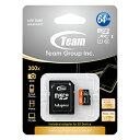 MicroSDXCカード 64GB Class10 UHS-I規格対応 超高速45MB/s TEAM製 MicroSDXC MicroSD マイクロ メモリー カード