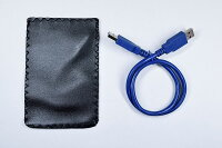 USB3.0対応2.5インチハードディスク・SSDケースSATA-USB3.0ブラック