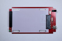 2.5インチハードディスク・SSDUSB2.0接続外付け用ケースIDE/SATA両用シルバー
