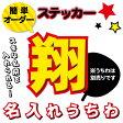 オリジナル名入れ 文字ステッカー※手持ちのジャンボうちわに貼ってコンサートへGO☆※うちわは別売りです