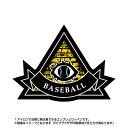 ベースボールワッペン ピラミッド型(アイロン/プロビデンスの目/スポーツ/秘密結社/エンブレム)