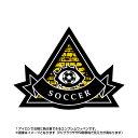 サッカーワッペン ピラミッド型(アイロン/プロビデンスの目/スポーツ/秘密結社/エンブレム)