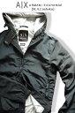 7661-3新品★アルマーニエクスチェンジ ARMANI EXCHANGE★A|Xナイロンジップパーカージャケット2904★紺★MENS