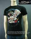 ショッピングhardy 2156-9新品★エド・ハーディー ED HARDY★デザインTシャツ★黒★MENS