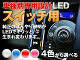 LED メーター/エアコン?レビューを書いてメール便?メーター エアコン LED【ホワイト/ブルー/レッド/ピンク】オデッセイ RA6/7/8/9 平成11/12-平成15/09(ROOFスイッチ用)