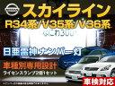 ナンバー灯 LED 日亜 雷神 スカイライン R34系/V35系/V36系