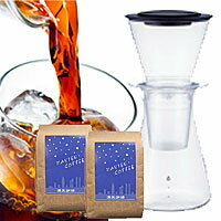 イワキウォータードリップコーヒーサーバー コーヒー