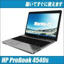 【中古ノートパソコン 】HP PROBOOK 4540s W...